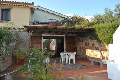 rental apartment in villa sardinia