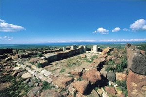 Archaeological remains in South Western Sardinia