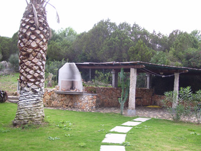 garden in the mediterranean maquis