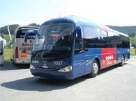 Bus connecting  Cagliari with holiday homes in Carbonia, Iglesias, S.Antioco
