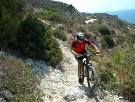 South Sardinia apartments villas close to the bike trails