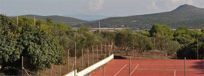 Sant Antioco vacation rental, tennis