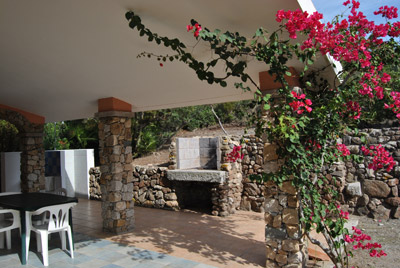 Sardinia rental in villa Lilli